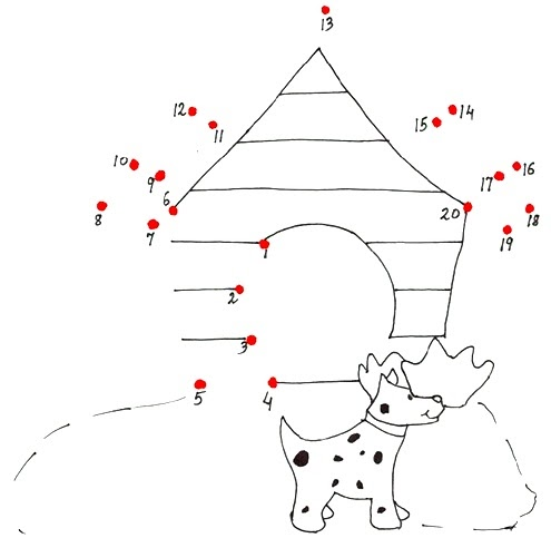 Preschool Coloring Sheets: Christmas Math Subtraction