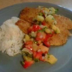 Caribbean Fish With Mango Salsa Recipe