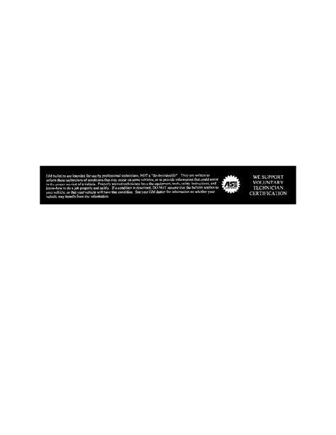 Buick Workshop Manuals > Terraza FWD V6-3.5L VIN 8 (2005