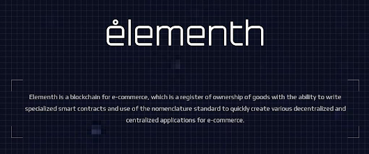 Elementh - Blockchain for Ecommerce