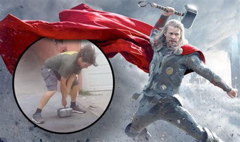 WATCH: Man builds working Thor hammer, leaves people