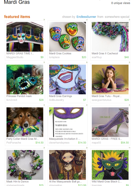 Mardi Gras Treasury West by EndlessSunner