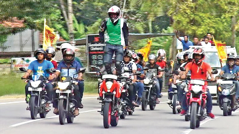 DARING ACT FOR GUINNESS RECORD