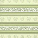 Fancy Green Stripes by MagentaStyle