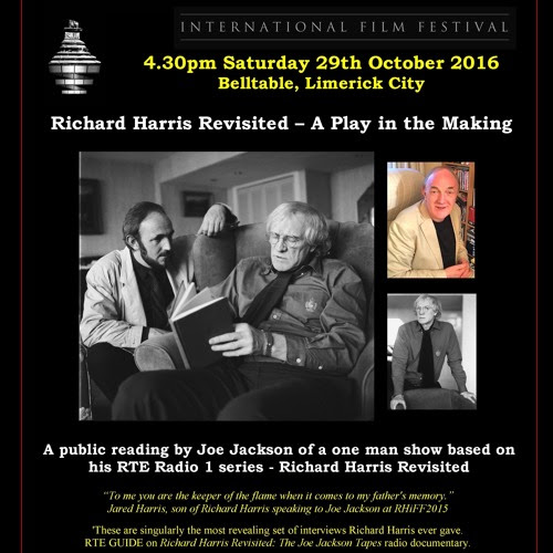 Richard Harris Revisited –– A Play in the Making by Joe Jackson 21