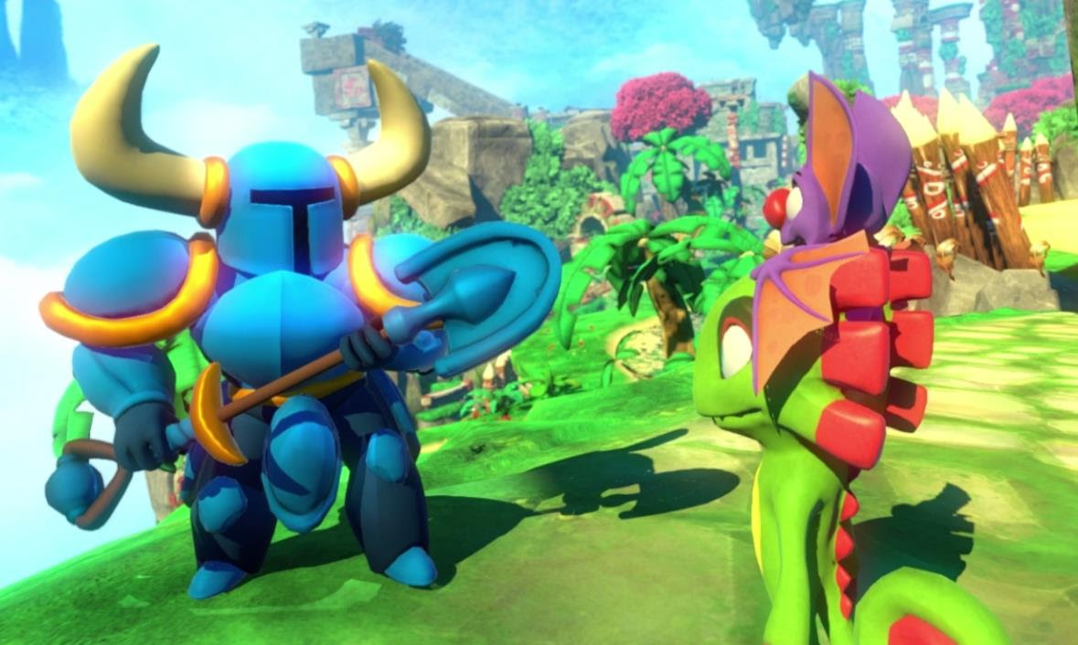 Yooka-Laylee just got a massive polish-centric patch on PC screenshot
