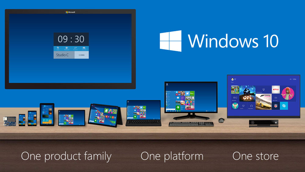 windows 10 versions