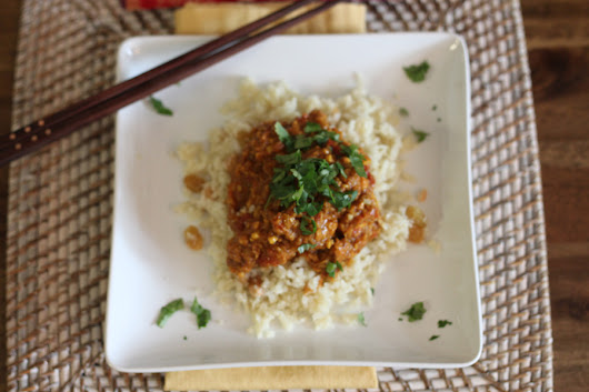 A Chicken Curry Recipe with Paleo Rice