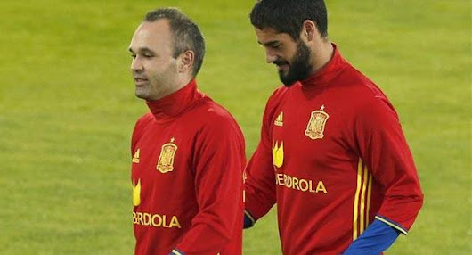 Iniesta Menjuluki Isco Pemain The Brutal is The Best of Skill