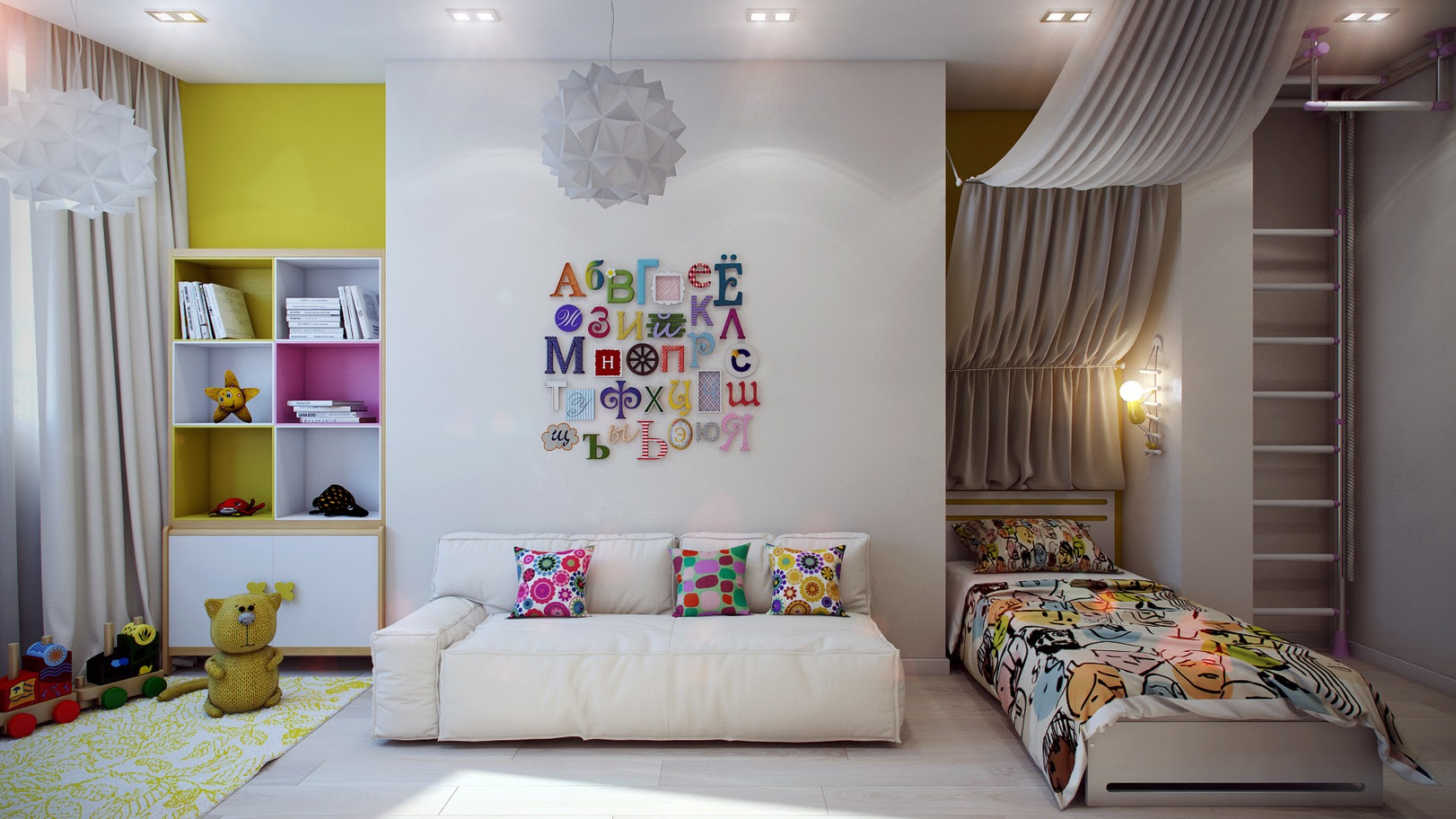 Ideas for Kid's Bedroom Designs | Kids and Baby Design Ideas