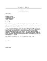 BCOM 3950- goodwill letter