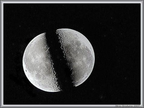 """Bukti Ilmiah """"Bulan Terbelah"""" dari Manuskrip Kuno, Raja India, dan Ilmuwan NASA"""