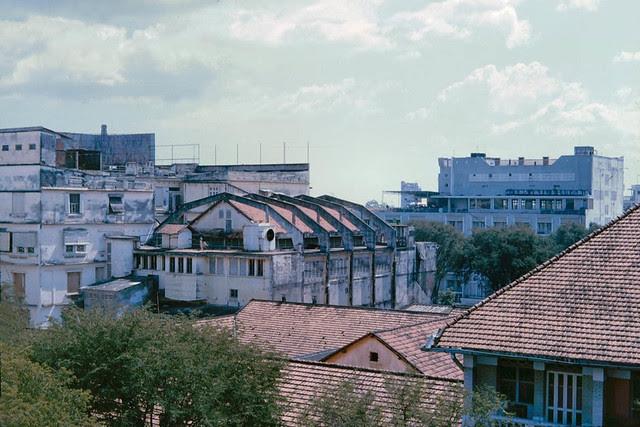 Saigon 1965 - The Eden cinema is in the center