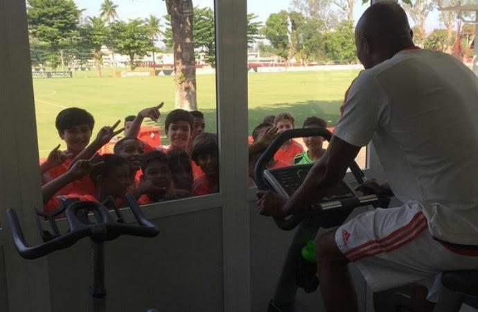 Anderson Silva na Gávea (Foto: Reprodução/Instagram)