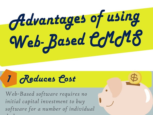 Advantages of Web Based CMMS