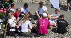 J/70 youth sailors at Danish Sailing League