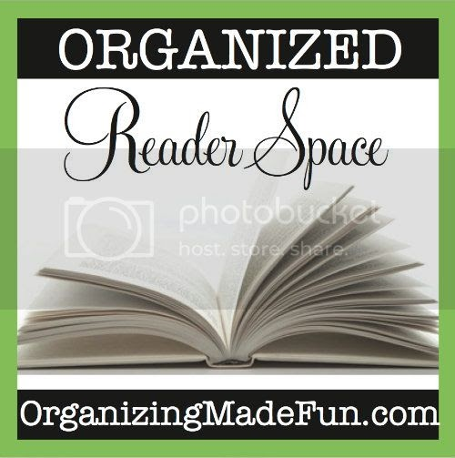 Perfectly Organized What Organizing Made Fun: Organized Reader Space: Jennifer From A Simple String Of
