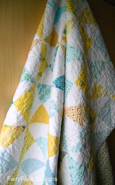 Fresh Pinwheels quilt hanging.jpg