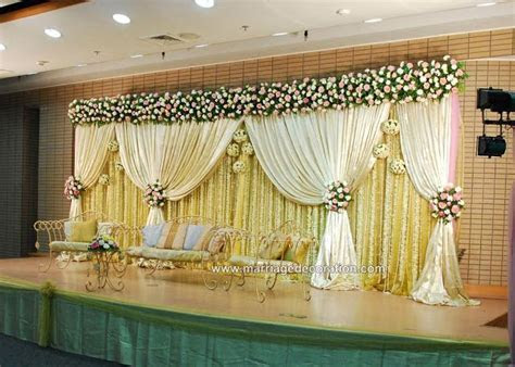 Wedding Stage Decoration Ideas   get organised Wedding