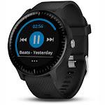 Garmin vivoactive 3 Music GPS Smartwatch - (Black with Silver Hardware)
