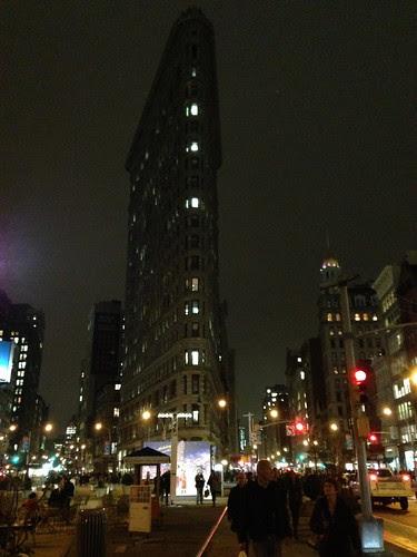 The prowlike Flatiron Building