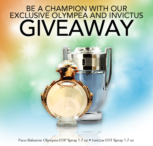 Be a champion with FragranceNet.com's exclusive Paco Rabanne Invictus and Olympea giveaway.