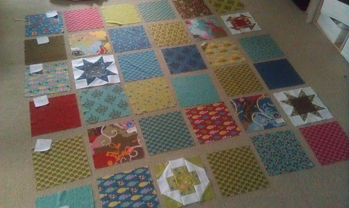 charmed prints qal : layout with blocks
