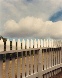 Fence, Truro, Joel Meyerowitz, 1976
