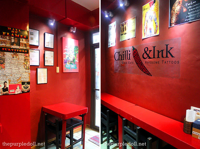 Chilli & Ink Interior