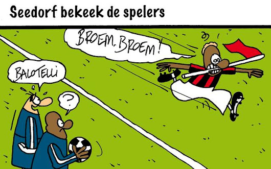 FC Knudde cartoon op 16 January