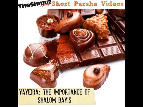 Parshas Vayeira: The importance of shalom bayis | Shiur.com - Best Torah Lectures