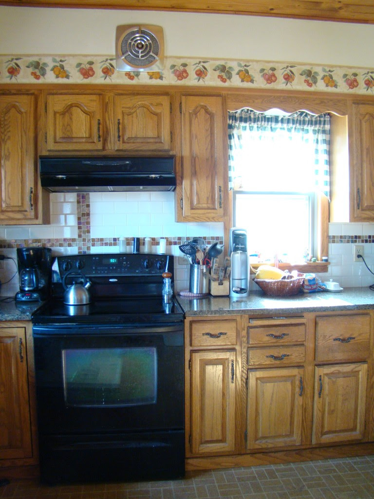 Before and After: Kitchen Window Treatment Upgrade | A Little ...