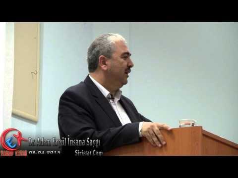 """Dr. Adem Ergül """"İnsana Saygı"""" Konferansı - Bozkır Memur-Sen Programı"""