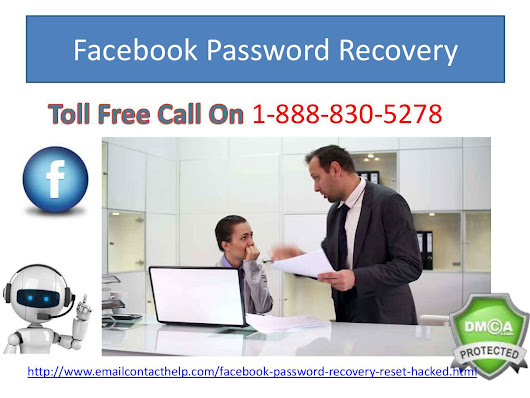 Get All-time Facebook Password Recovery by ringing us at @1-888-830-5278