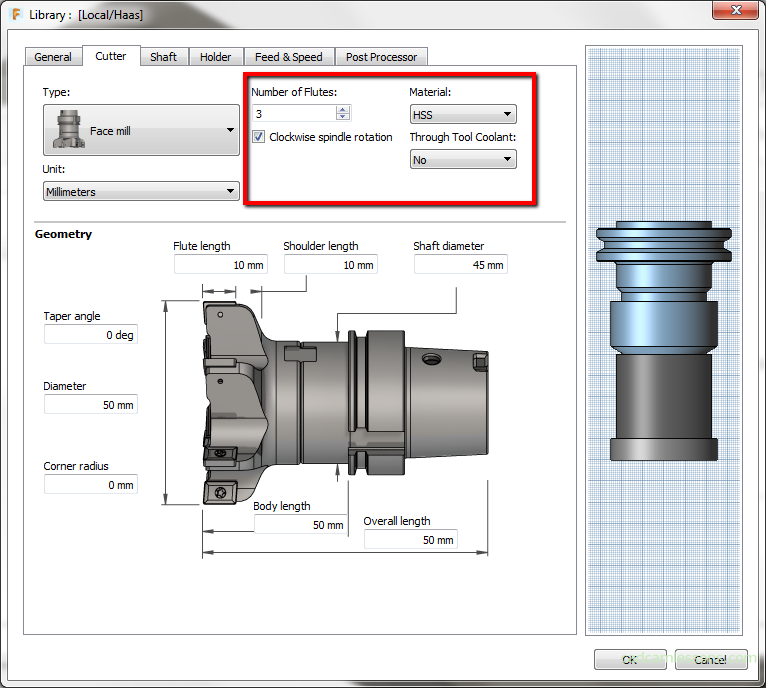 Tool Definition Fusion 360 Cadcamlessons Com