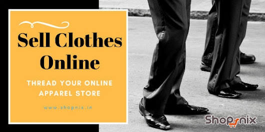 How do I sell clothes online in India?