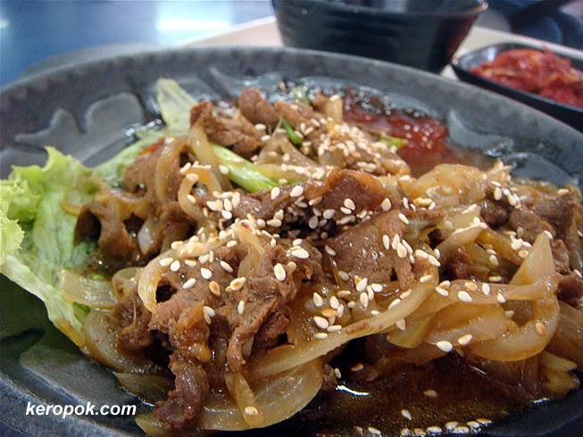 Korean BBQ Beef Set