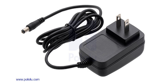 Pololu - New 12V 1A wall power adapter