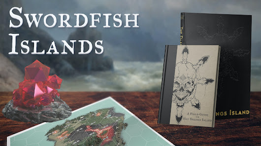 Swordfish Islands: Hexcrawl Adventures on Hot Springs Island