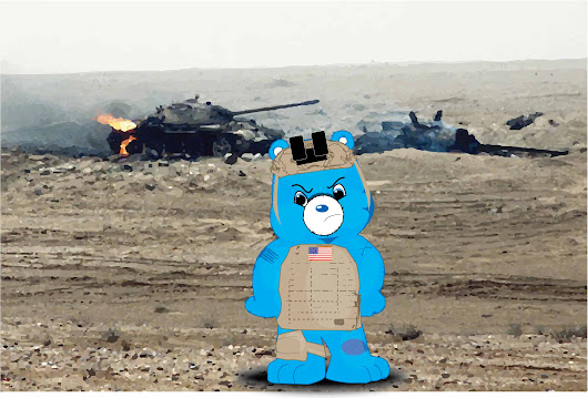Infantry Bear - Copyright Pending - ;) | KennyLeeHolmes.com