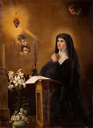 Sacro Cuore di Gesù e Santa Margherita Maria Alacoque