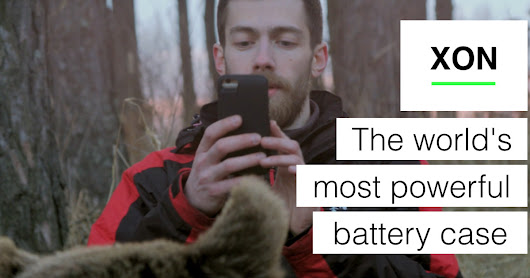 XON - The world's most powerful battery case