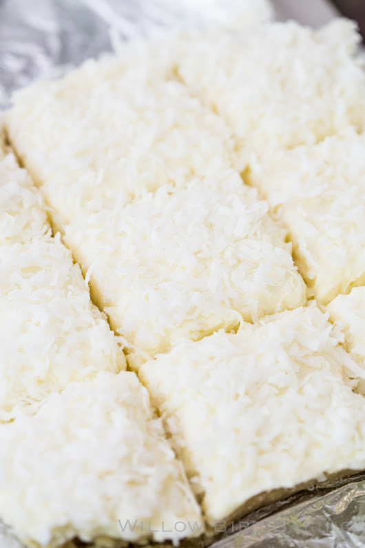 Coconut Cream Sugar Cookie Bars (and I Changed My Mind Story #1) - Willow Bird Baking