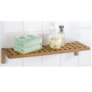 le lit de vos r ves etagere murale salle de bain bois. Black Bedroom Furniture Sets. Home Design Ideas