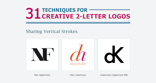 31 Useful Design Techniques For Creative Two-Letter Logos