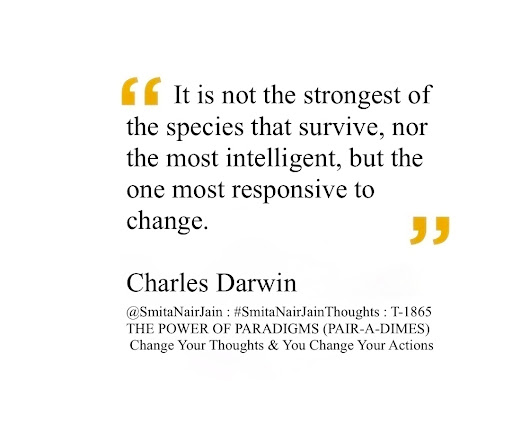 SNJ : T-1865 : THE POWER OF PARADIGMS (Change Your Thoughts & You Change Your Actions)