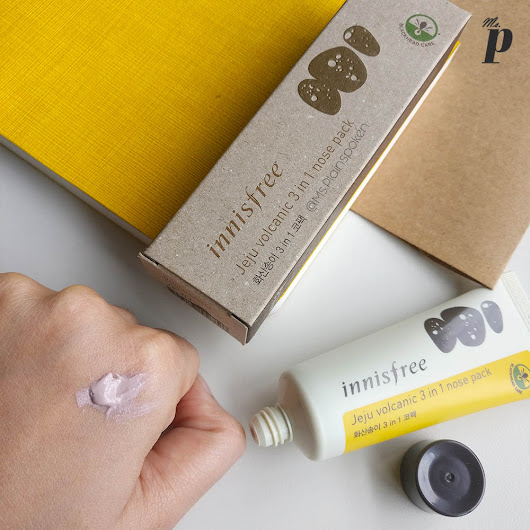 Innisfree – Jeju Volcanic 3 in 1 Nose Pack | Review