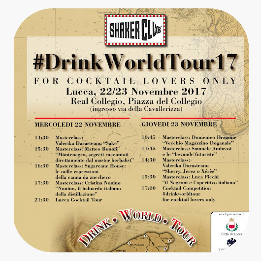 Drink World Tour - 22, 23 novembre - Lucca - popEating