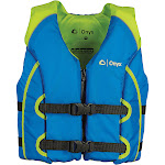 Onyx All Adventure Youth Vest - Green & Blue