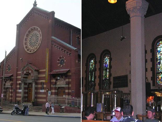 Church Brew Works, cervejaria que funciona dentro de uma igreja (Foto: Olessi e Lee Paxton/Creative Commons)